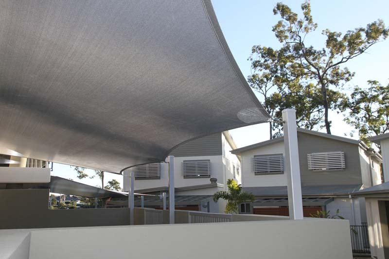 gold coast shade sails unit complex community space