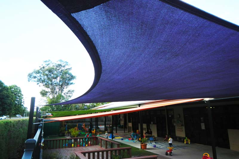 magnificent coverage with shade sails