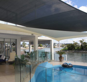 swimming pool shade sails areas