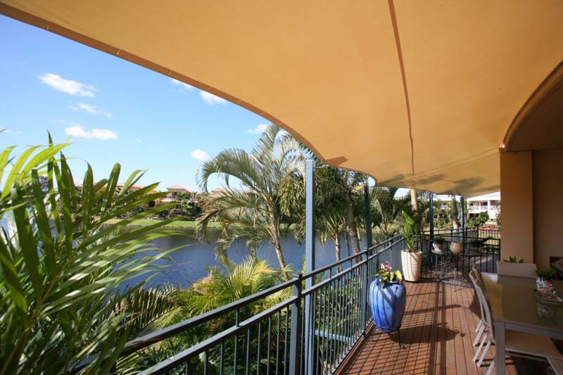shade sail verandah