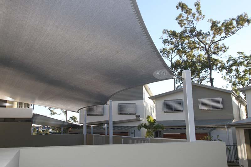 gold coast shade sails unit complex community space