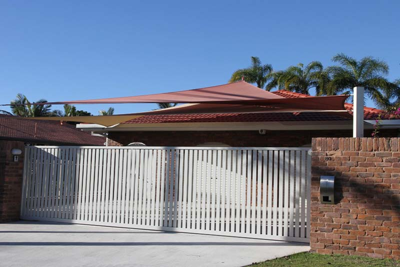 shade sails make great carport alternatives