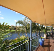 residential applications for shade sails