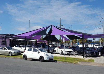 Car Yards Shade Sails