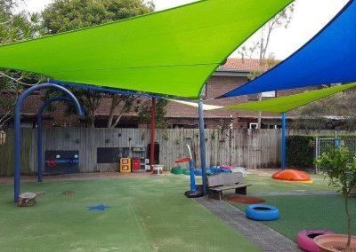 Kindergarten Lime Sails